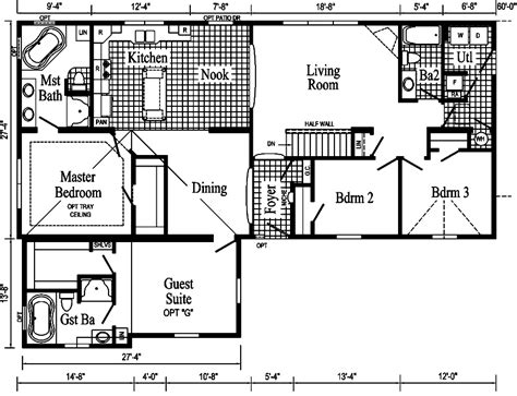 extended family house plans the extended family modular home pennflex series