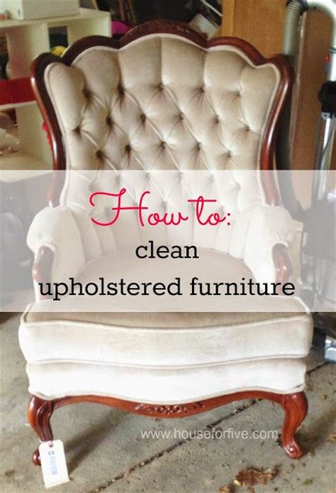 Clean Upholstered Chair How To Clean Upholstery Also Known As How To Get The Funk