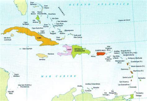 mapa america central y antillas banderas antillas de america culturas religiones y