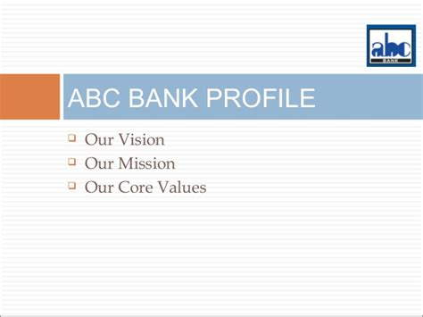 abc bank abc global products services presentation