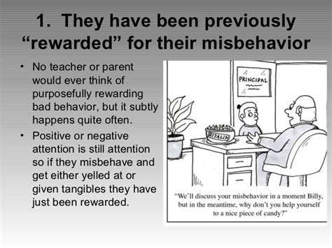 7 Reasons Why Misbehave by Five Reasons For Student Misbehavior