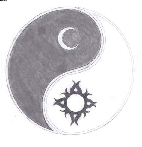 sun moon yin yang tattoo designs sun moon yin yang sketch ideas to create