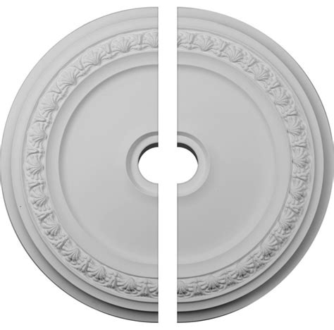 two ceiling medallion 31 1 8 quot od x 4 quot id x 1 1 2 quot p carlsbad ceiling medallion two
