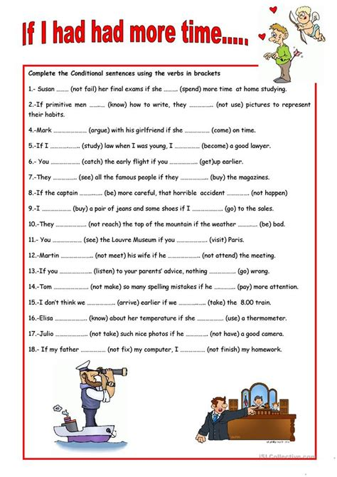 pattern of first conditional sentences conditional sentences worksheet free esl printable