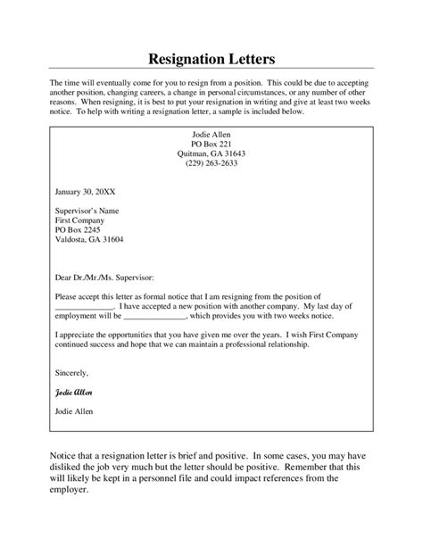 templates of resignation letter best 25 resignation letter ideas on resignation