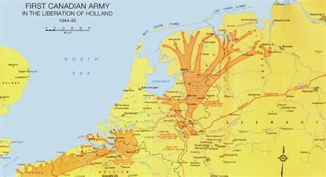 liberation of the netherlands world war 2 maps cka