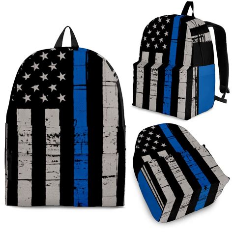thin blue line flag backpack thin blue line shop