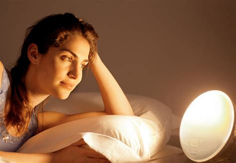 light for waking up philips wake up light with colored sunrise simulation for