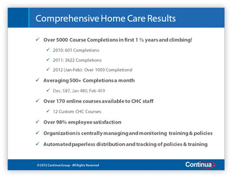 comprehensive home care achieves great results with