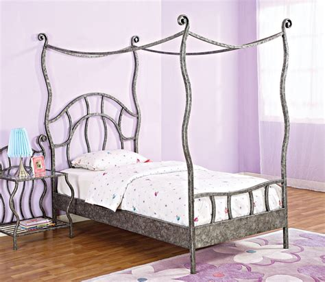 twin canopy bed frame kids twin canopy bed frame classic creeps stylish twin