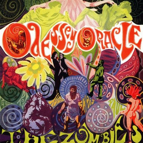 best hippie albums of all time best ever psychedelic album covers the zombies odessey