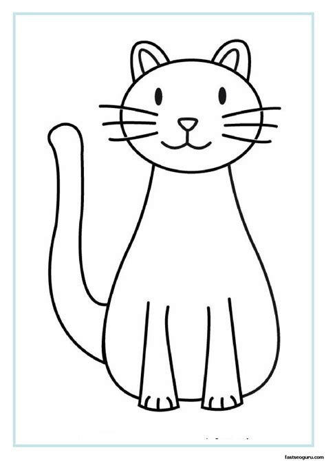 bad cat coloring page bad cat coloring page free coloring pages