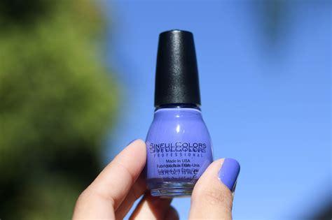 bluish purple color the bluish purple nail the