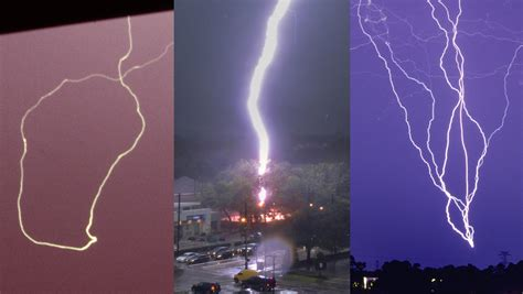 strange lightning strikes on and explained