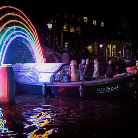 Amsterdam Light Festival Cruise Small Boat Tours Tickets