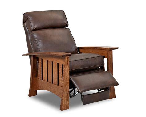 Recliner Wooden Chair Comfort Design Highlands Ii Leather Recliner Cl716hlrc