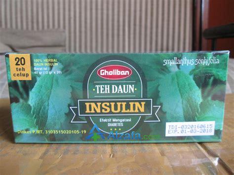 Teh Daun Insulin teh celup daun insulin alzafa store alzafa store