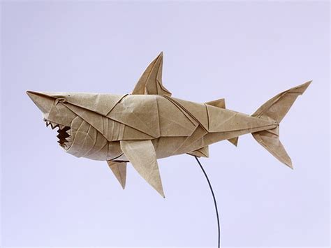 Origami Great White Shark - extraordinary origami a gallery on flickr