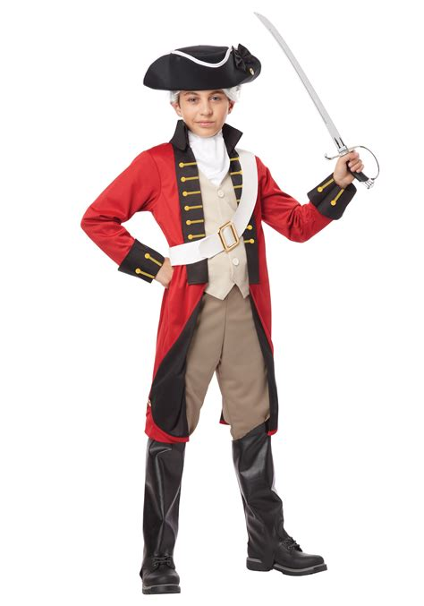 Patriotic Home Decorations by Boys British Redcoat Costume