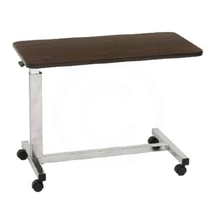overbed table hospital bed table bedside table