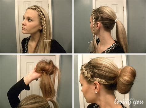 put your hair in a bun with braids 3 ways to shake up your sock bun