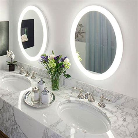 round bathroom mirror with lights 1000 ideas about bathroom mirrors on pinterest guest
