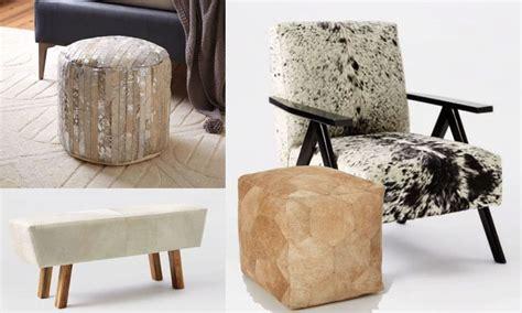 Modern Cowhide Furniture - cowhide furniture with a modern twist magazine
