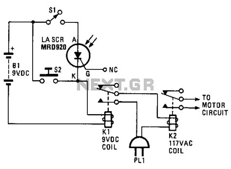 door lock circuit security circuits next gr