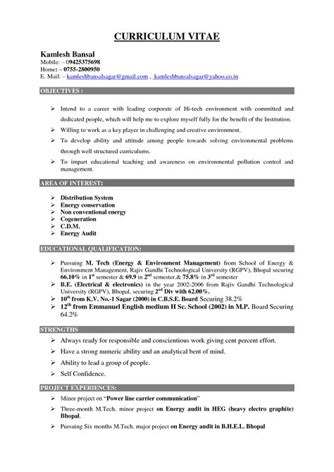 exle of a resume for a 28 images an exle of an resume