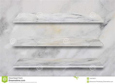 lo scaffale lo scaffale e la pietra di marmo superiori bianchi