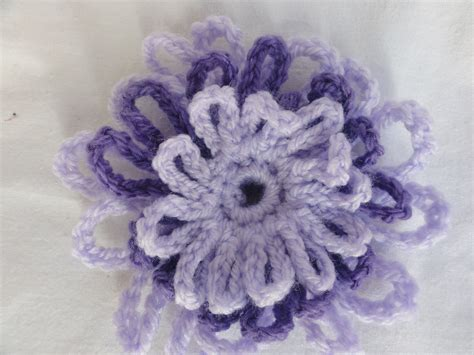 pattern crochet a flower crochet flower brooch knitnrun4sanity