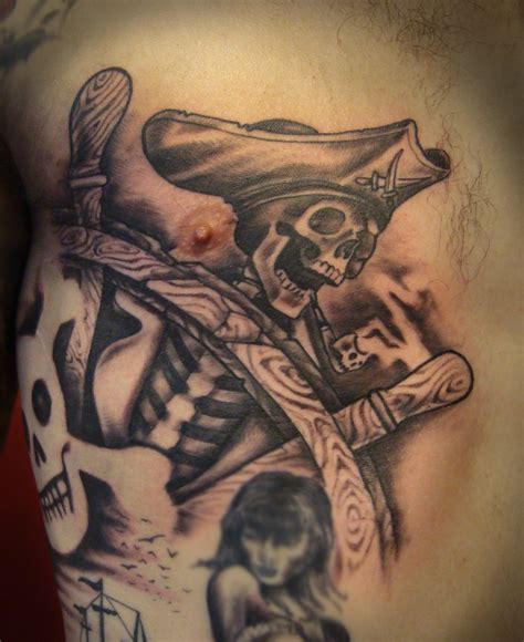 pirate skull tattoo pirate tattoos designs ideas and meaning tattoos for you