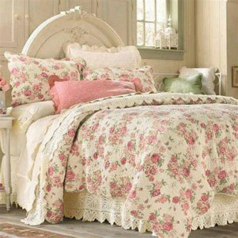 cottage bedding another french look french shabby chic bedding pinterest