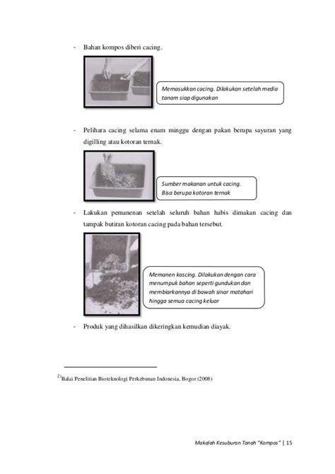Termometer Kompos makalah kesuburan tanah kompos