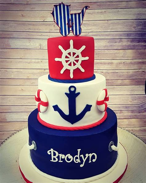 Anchor Baby Shower Ideas by Anchor Baby Shower Cakes Baby Shower Ideas