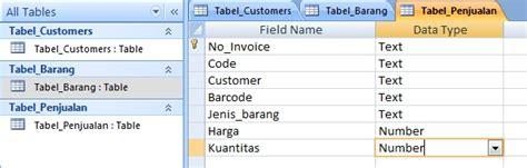 membuat erd dengan microsoft access contoh query database penjualan contoh wa