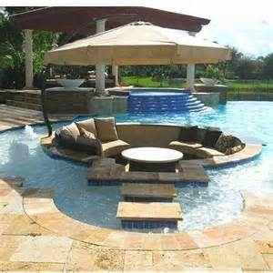 pool pit conversation pits sunken sitting areas