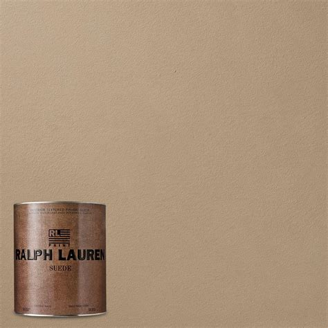 ralph lauren depot ralph 1 qt spitfire suede specialty finish interior paint su132 04 the home depot