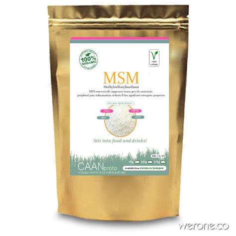 Msm Detox In Liver Ok by Msm Powder Sulphur For Mets And Detox Werone