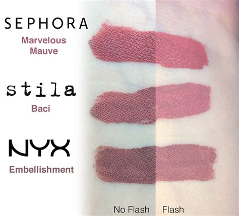 Stila Di Sephora sephora lip stain in marvelous mauve stila stay all