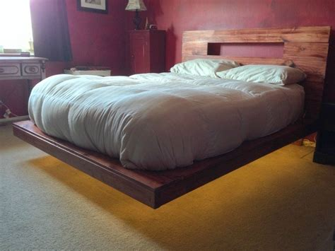 floating bed designs airborne build your own amazing floating bed with led