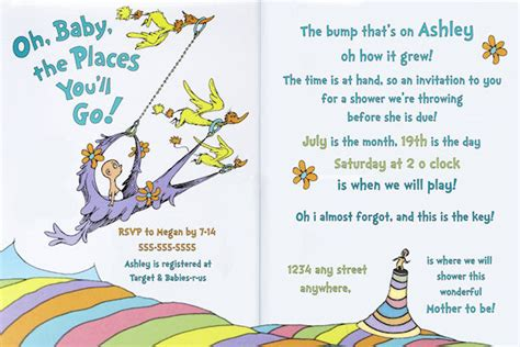 baby shower invitation new free printable dr seuss baby baby thank you dr seuss quotes quotesgram