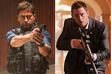 white house down vs olympus has fallen olympus has fallen vs white house down twin movies when good ideas strike twice