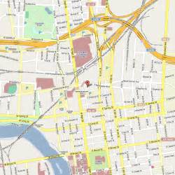Map Of Columbus Ohio by Columbus Oh Map