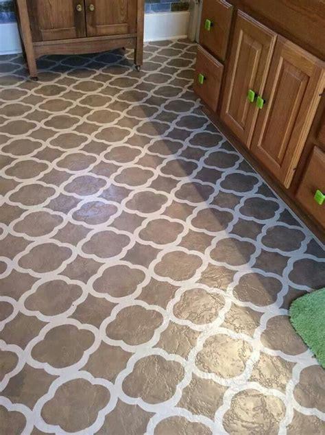 AS painted floors!   Refinishing Inspiration   Pinterest