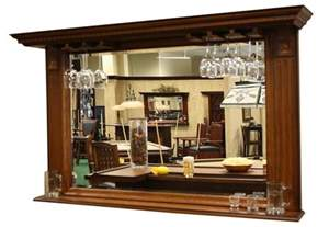 bar mirror with shelves kokomo back bar mirror w display shelf home decor shelves bar and mirror