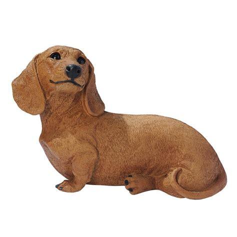 dachshund garden statue