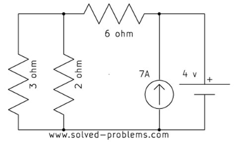 current source parallel resistors problem 1 13 voltage of a current source solved problems