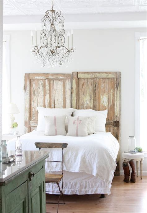headboard from old door old door headboard for the home pinterest