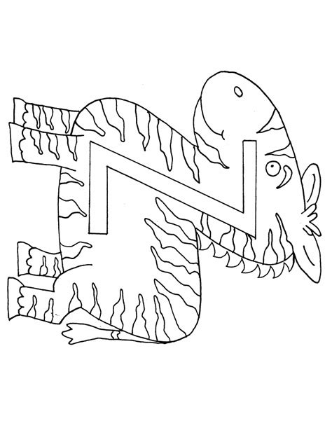 Letter Coloring Pages Coloring Pages To Print Z Coloring Page